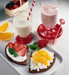 Vitaminbrote mit Früchten