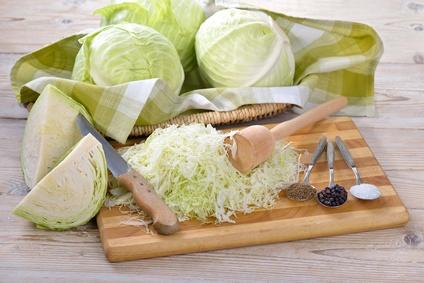 Weißkohl, Weißkraut, Sauerkraut