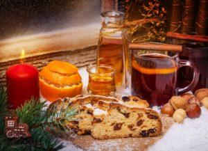 Weihnachten: Glühwein und Stollen (1. Advent)