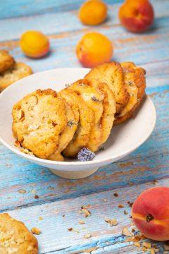 Aprikosen Nicecream-Cookies