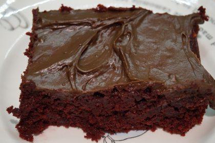 Schokoladenkuchen, Schokocreme, Ganache