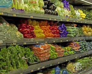 Supermarkt, Gemüse
