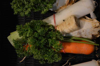 Suppengemüse für Gemüsebrühe