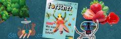 """Neue Ausgabe des Kindermagazins """"forscher"""": Was essen wir in Zukunft?"""