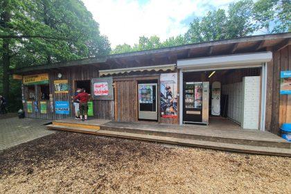 Flavura Eisautomat im Skyments Kletterpark in Bielefeld