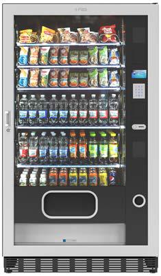 FAS FASTER TM BLACK 2T 1050 6 50 MSP by Flavura Foodautomat Snackautomat Verkaufsautomat Warenautomat