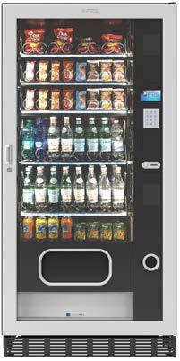 FAS FASTER TM BLACK 2T 900 6 40 MSP by Flavura Foodautomat Snackautomat Verkaufsautomat Warenautomat: Spiralautomat