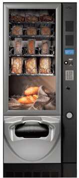 Snackautomat mit integrierter Mikrowelle by Flavura: FAS Just Now Foodautomat, Snackautomat, Verkaufsautomat, Warenautomat