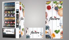 Branding: Flavura Vending Automaten jetzt auch mit eigenem Logo und im Look & Feel von Marken möglich