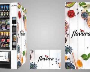 Automaten-Design von Flavura für Verkaufsautomaten und Warenautomaten
