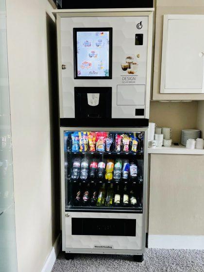 Flavura Hotelautomaten: Kaffeeautomaten und Snackautomaten im Hotel am Molkenmarkt in Brandenburg