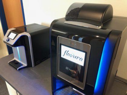 Flavura Kaffeetheke im Call Center WittCall: Telefonstudio in Neubrandenburg in Mecklenburg-Vorpommern