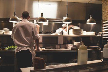 Küche, Restaurant, Koch