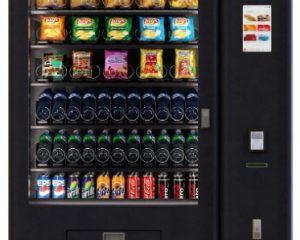 Kombiautomat QUBE by Flavura Vending Automaten: Snackautomat, Foodautomat, Getränkeautomat, Verkaufsautomat, Warenautomat