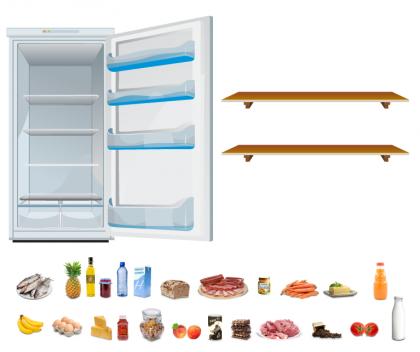IN FORM Kühlschrankspiel