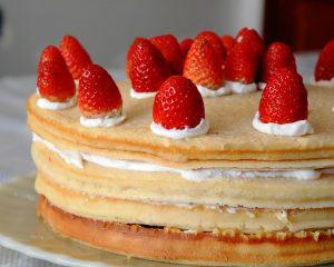 Kuchen, naked cake