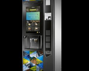 Necta Maestro Touch Kaffeeautomat by Flavura: Heißgetränkeautomat, Kaffeevollautomat, Standautomat