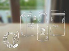 Karton, Kunststoff oder Glas: Welche Milchverpackung ist am nachhaltigsten?