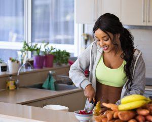 Frühstück, Gemüse, Obst