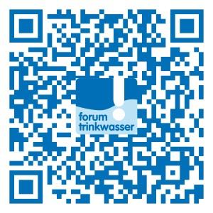 QR-Code scannen zum Forum Trinkwasser Facebook-Profil