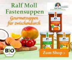 Werbung: BIO FASTENSUPPEN von Ralf Moll