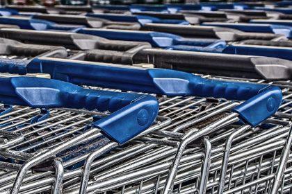 Supermarkt, Einkaufen