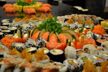 Sushi-Blätter