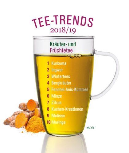 Kräuter- und Früchtetee-Trends 2018/19
