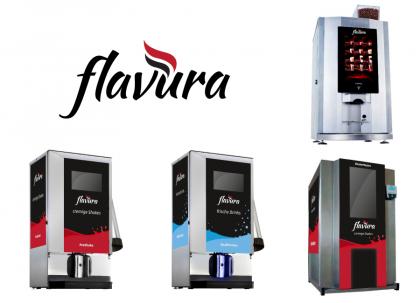 Getränkeautomaten, Verkaufsautomaten und Warenautomaten mieten, leasen oder kaufen von Flavura