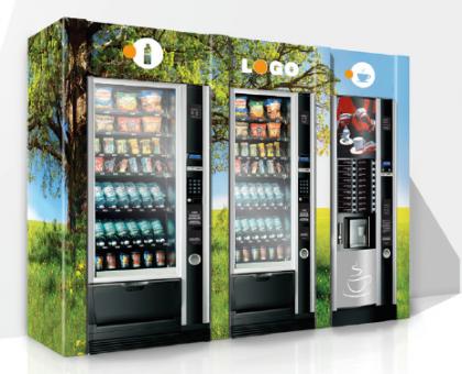 Umhausungen und Verkleidungen aus Karton für Vending Automaten und Automatenstationen by Flavura: Verkaufsautomaten, Warenautomaten