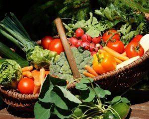 Gemüse, Gemüsekorb