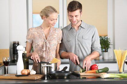 Küche, Kochen